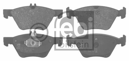 Kit de plaquettes de frein, frein à disque - FEBI BILSTEIN - 16028