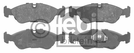 Kit de plaquettes de frein, frein à disque - FEBI BILSTEIN - 16030