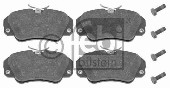 Kit de plaquettes de frein, frein à disque - FEBI BILSTEIN - 16031