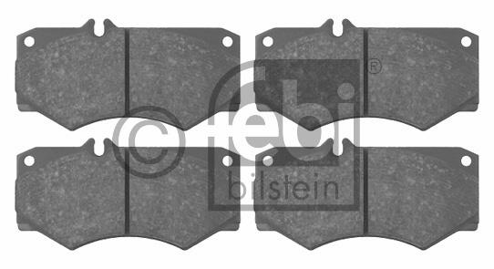 Kit de plaquettes de frein, frein à disque - FEBI BILSTEIN - 16033