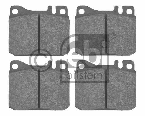 Kit de plaquettes de frein, frein à disque - FEBI BILSTEIN - 16045