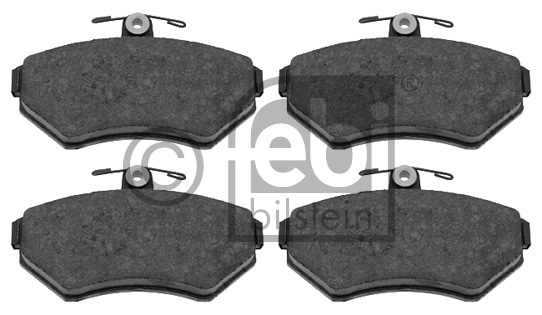 Kit de plaquettes de frein, frein à disque - FEBI BILSTEIN - 16046
