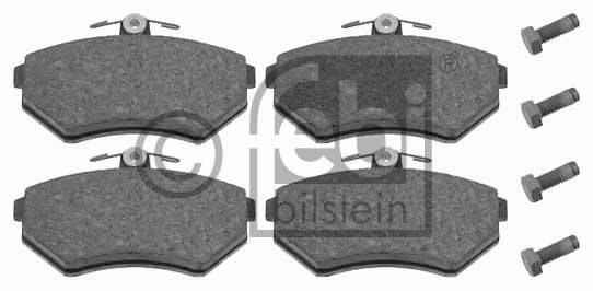 Kit de plaquettes de frein, frein à disque - FEBI BILSTEIN - 16048