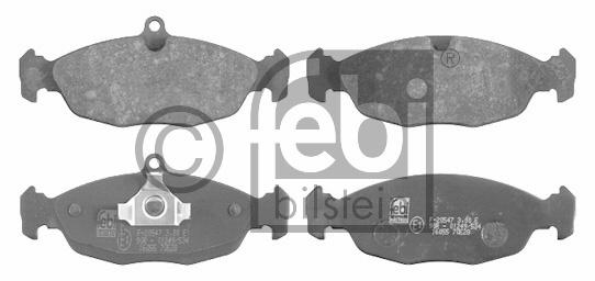 Kit de plaquettes de frein, frein à disque - FEBI BILSTEIN - 16055
