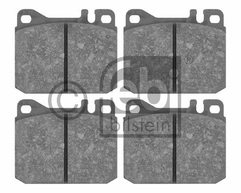 Kit de plaquettes de frein, frein à disque - FEBI BILSTEIN - 16057