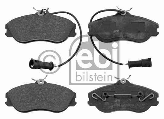 Kit de plaquettes de frein, frein à disque - FEBI BILSTEIN - 16062