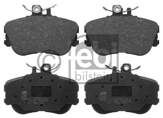 Kit de plaquettes de frein, frein à disque - FEBI BILSTEIN - 16067