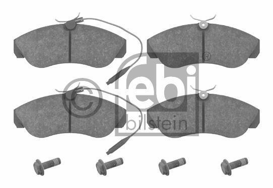 Kit de plaquettes de frein, frein à disque - FEBI BILSTEIN - 16069