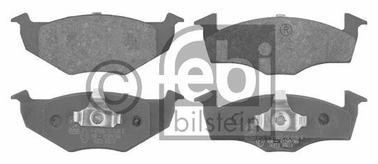 Kit de plaquettes de frein, frein à disque - FEBI BILSTEIN - 16072