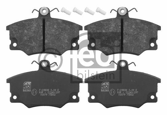 Kit de plaquettes de frein, frein à disque - FEBI BILSTEIN - 16079