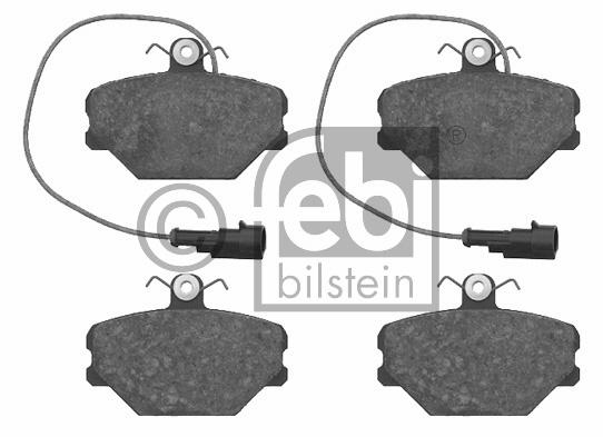 Kit de plaquettes de frein, frein à disque - FEBI BILSTEIN - 16086