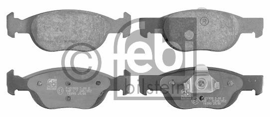 Kit de plaquettes de frein, frein à disque - FEBI BILSTEIN - 16093
