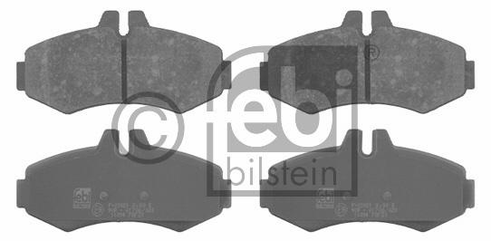 Kit de plaquettes de frein, frein à disque - FEBI BILSTEIN - 16094
