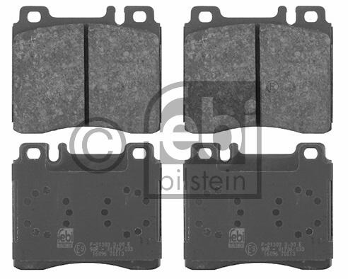 Kit de plaquettes de frein, frein à disque - FEBI BILSTEIN - 16096