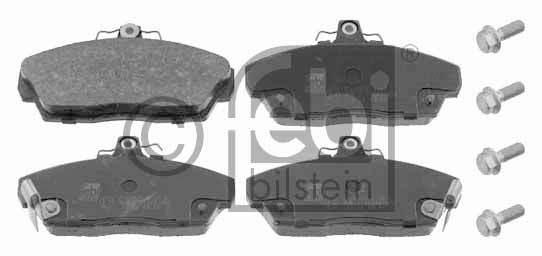 Kit de plaquettes de frein, frein à disque - FEBI BILSTEIN - 16114