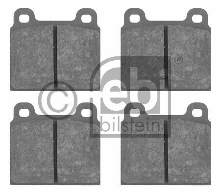 Kit de plaquettes de frein, frein à disque - FEBI BILSTEIN - 16134