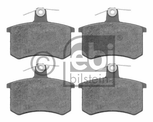 Kit de plaquettes de frein, frein à disque - FEBI BILSTEIN - 16142