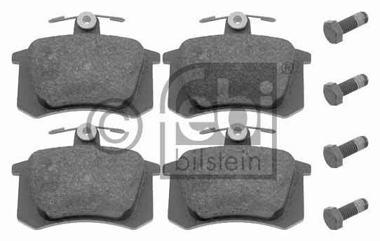 Kit de plaquettes de frein, frein à disque - FEBI BILSTEIN - 16144