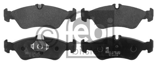 Kit de plaquettes de frein, frein à disque - FEBI BILSTEIN - 16160