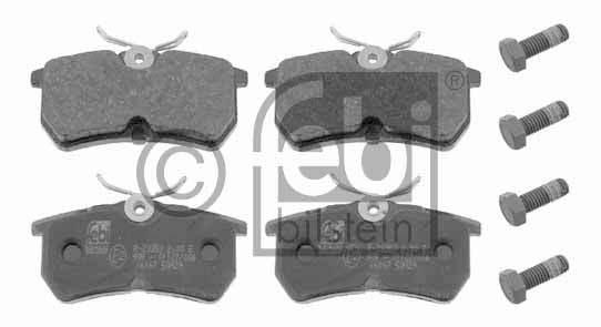 Kit de plaquettes de frein, frein à disque - FEBI BILSTEIN - 16167