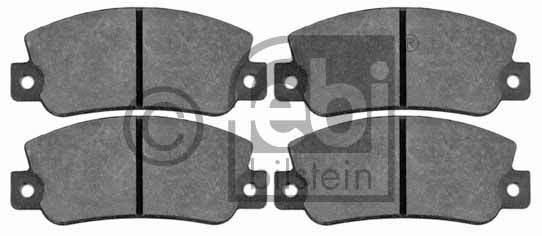 Kit de plaquettes de frein, frein à disque - FEBI BILSTEIN - 16168