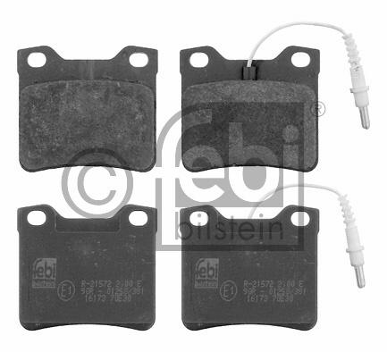 Kit de plaquettes de frein, frein à disque - FEBI BILSTEIN - 16173