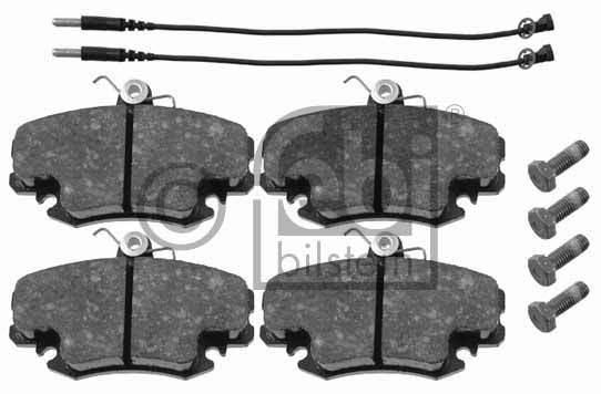 Kit de plaquettes de frein, frein à disque - FEBI BILSTEIN - 16191