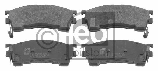 Kit de plaquettes de frein, frein à disque - FEBI BILSTEIN - 16198