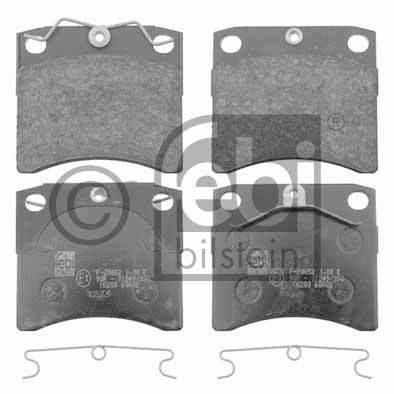 Kit de plaquettes de frein, frein à disque - FEBI BILSTEIN - 16200