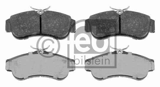 Kit de plaquettes de frein, frein à disque - FEBI BILSTEIN - 16201