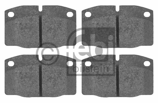 Kit de plaquettes de frein, frein à disque - FEBI BILSTEIN - 16203