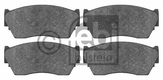 Kit de plaquettes de frein, frein à disque - FEBI BILSTEIN - 16204