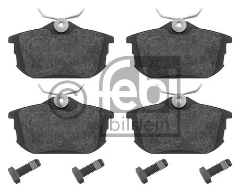 Kit de plaquettes de frein, frein à disque - FEBI BILSTEIN - 16207
