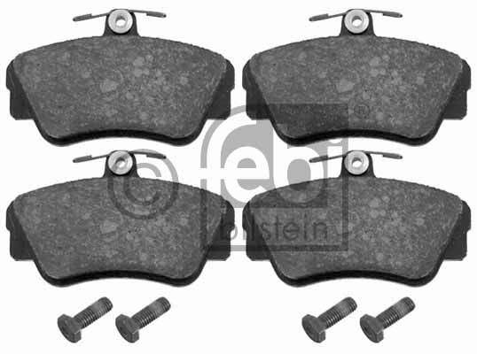 Kit de plaquettes de frein, frein à disque - FEBI BILSTEIN - 16210