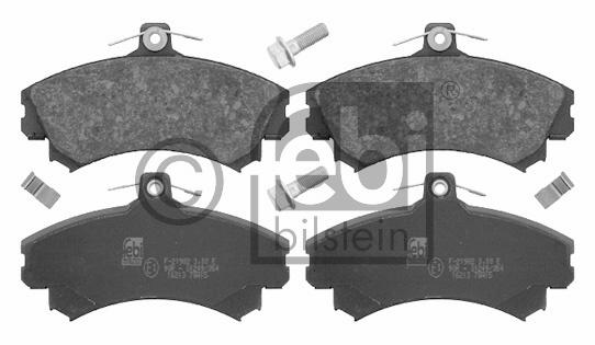 Kit de plaquettes de frein, frein à disque - FEBI BILSTEIN - 16213