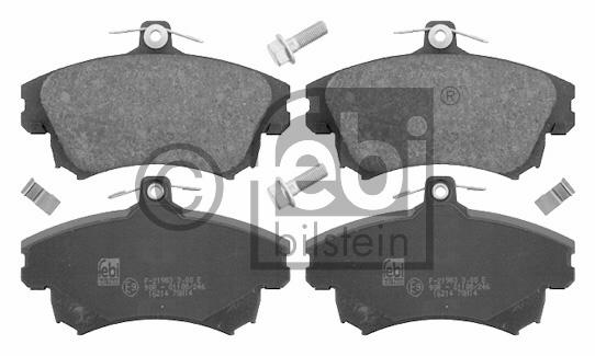 Kit de plaquettes de frein, frein à disque - FEBI BILSTEIN - 16214