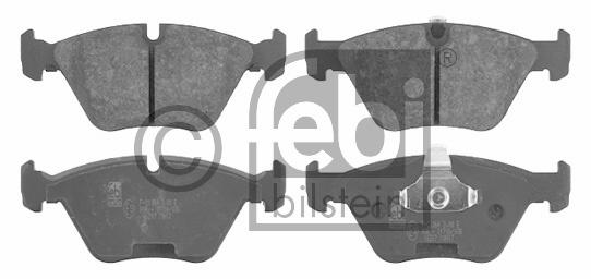Kit de plaquettes de frein, frein à disque - FEBI BILSTEIN - 16217