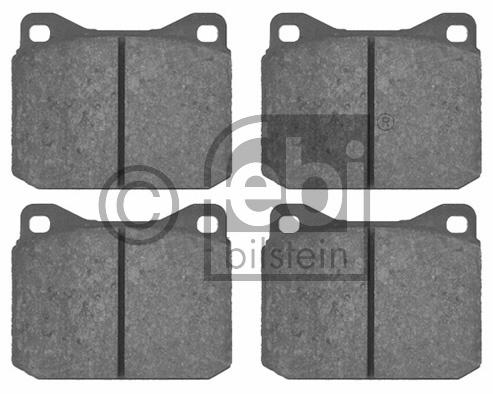 Kit de plaquettes de frein, frein à disque - FEBI BILSTEIN - 16220