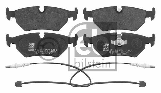 Kit de plaquettes de frein, frein à disque - FEBI BILSTEIN - 16223