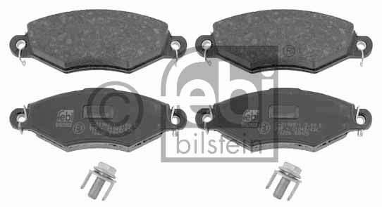 Kit de plaquettes de frein, frein à disque - FEBI BILSTEIN - 16226
