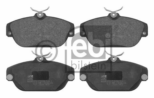 Kit de plaquettes de frein, frein à disque - FEBI BILSTEIN - 16228