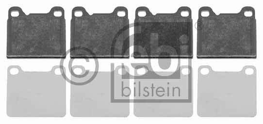 Kit de plaquettes de frein, frein à disque - FEBI BILSTEIN - 16231