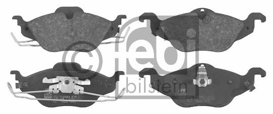 Kit de plaquettes de frein, frein à disque - FEBI BILSTEIN - 16233