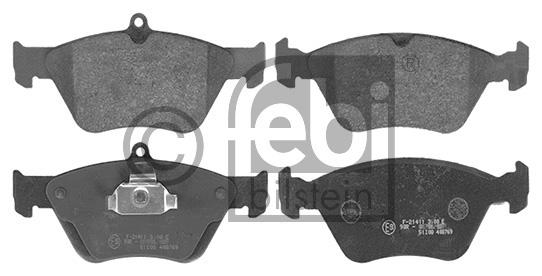Kit de plaquettes de frein, frein à disque - FEBI BILSTEIN - 16234
