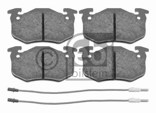 Kit de plaquettes de frein, frein à disque - FEBI BILSTEIN - 16236