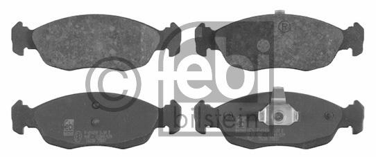 Kit de plaquettes de frein, frein à disque - FEBI BILSTEIN - 16238