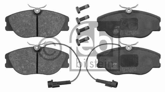 Kit de plaquettes de frein, frein à disque - FEBI BILSTEIN - 16239