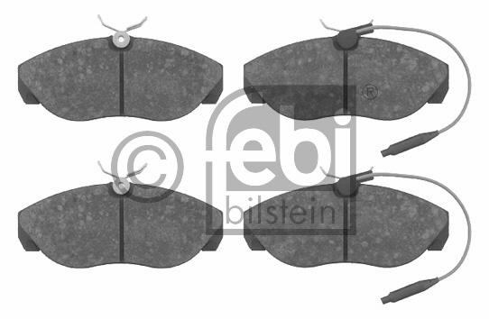 Kit de plaquettes de frein, frein à disque - FEBI BILSTEIN - 16240