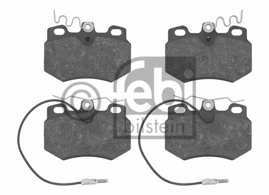 Kit de plaquettes de frein, frein à disque - FEBI BILSTEIN - 16242