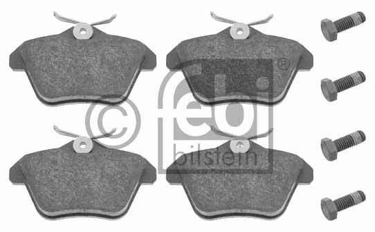 Kit de plaquettes de frein, frein à disque - FEBI BILSTEIN - 16245
